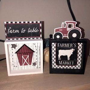FARM HOUSE KITCHEN WOODEN SIGNS